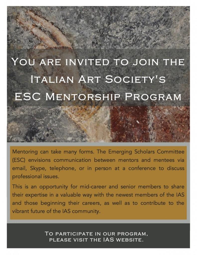 Become an IAS Mentor!