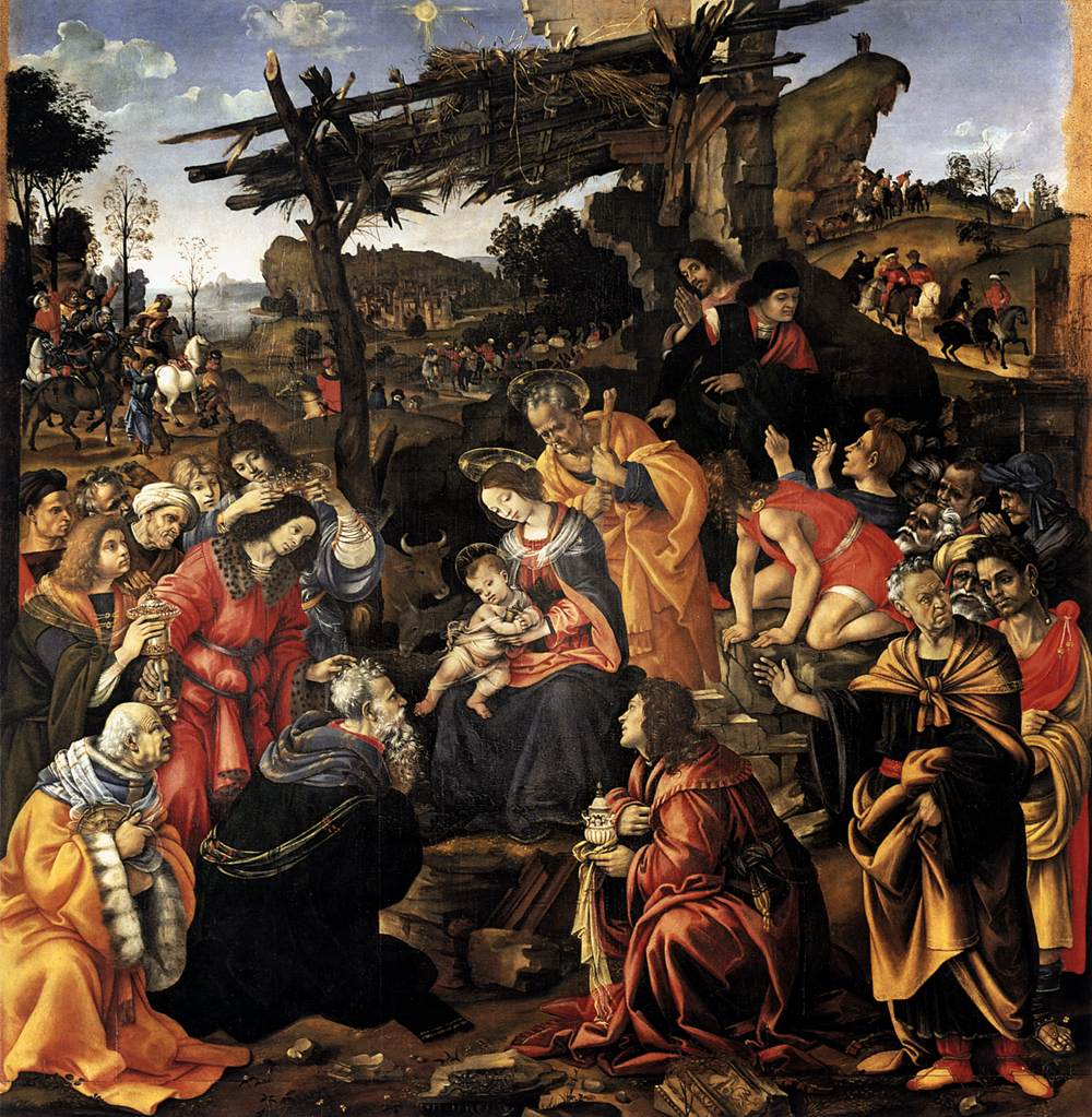 Leonardo da Vinci's Adoration