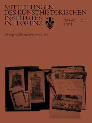 Mitteilungen des Kunsthistorischen Instituts in Florenz, 62, no. 1