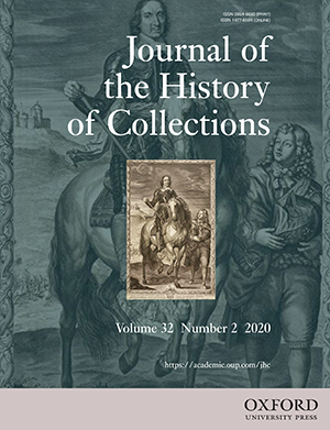 Journal f the History of Collections